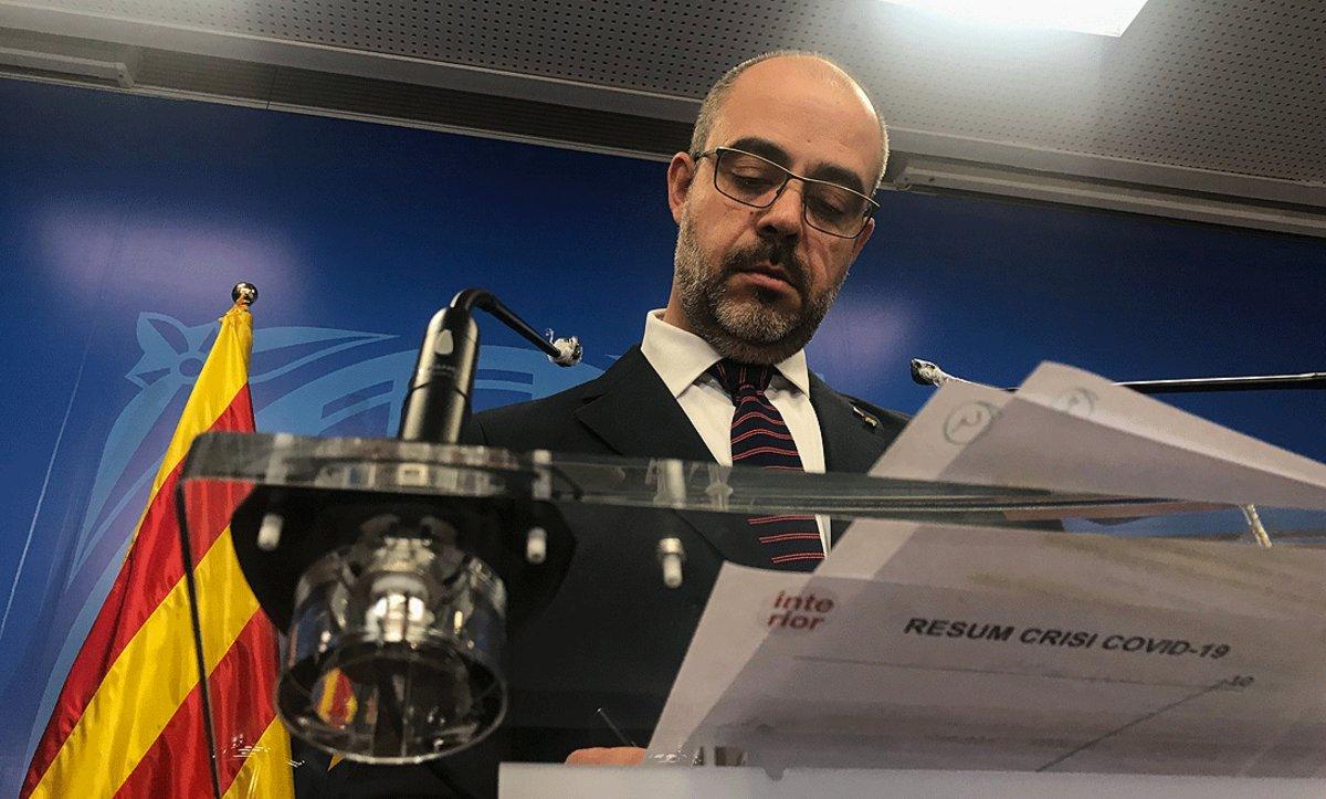 El TSJC cita a declarar a Buch por el escolta de Puigdemont en Bélgica