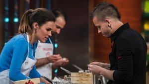 Dabiz Muñoz en las cocinas de 'Masterchef'.