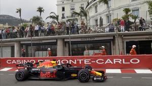 Daniel Ricciardo, en el GP de Mónaco.