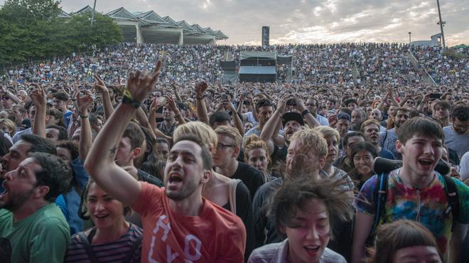 El Parc del Fòrum acoge un año más el mayor evento musical del año