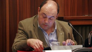 El concejal de FIgueres Diego Borrego.