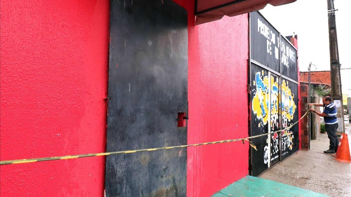 La discoteca de Fortaleza (Brasil) donde murieron al menos 14 personas en un tiroteo.