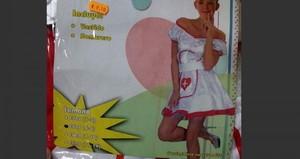 El disfraz de enfermera sexy para niñas.