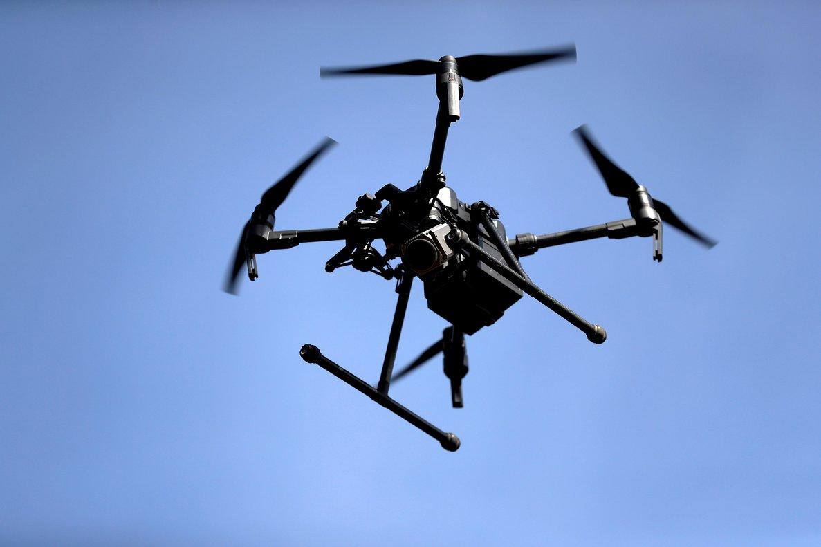 Un dron.
