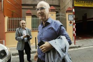 Duran Lleida, el pasado 29 de julio, en Barcelona.