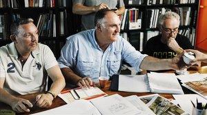 Albert Adrià, José Andrés y Ferran Adrià, los cerebros gastronómicos de Little Spain.