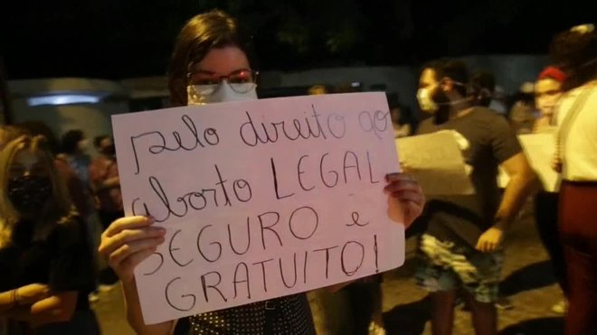 Una nena de 10 anys, autoritzada a avortar al Brasil després de ser violada