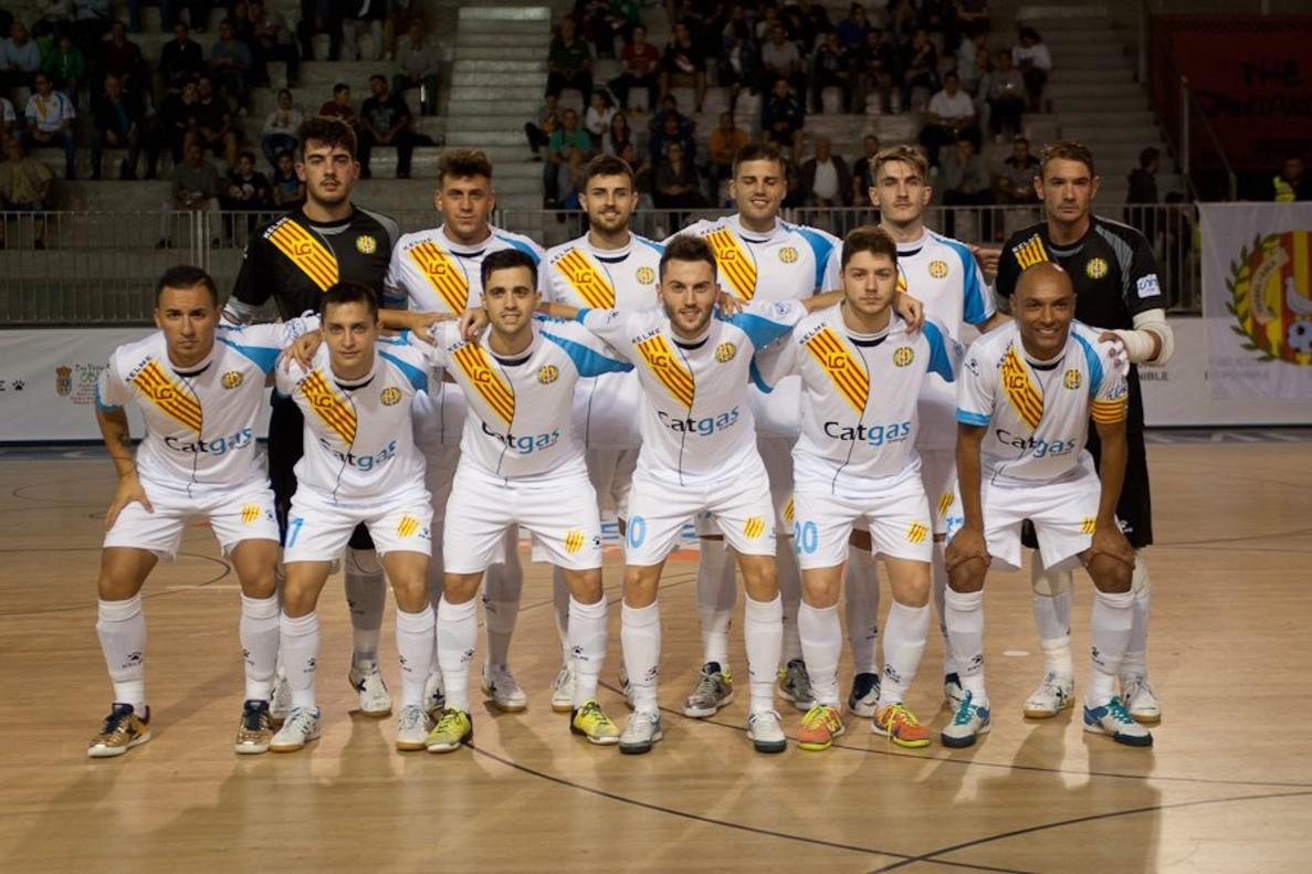 Equipo de fútbol sala del Industrias Santa Coloma.