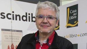 El escritor y enigmista Marius Serra, el pasado mes de marzo.