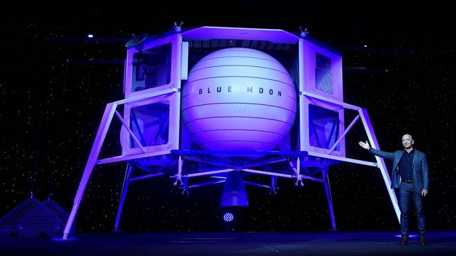 Esta es Blue Moon, la nave con la que Jeff Bezos quiere llevar turistas a la luna.
