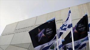 La sede del Museo de Arte de Tel Aviv, donde transcurren las semifinales para ir a Eurovisión2019.