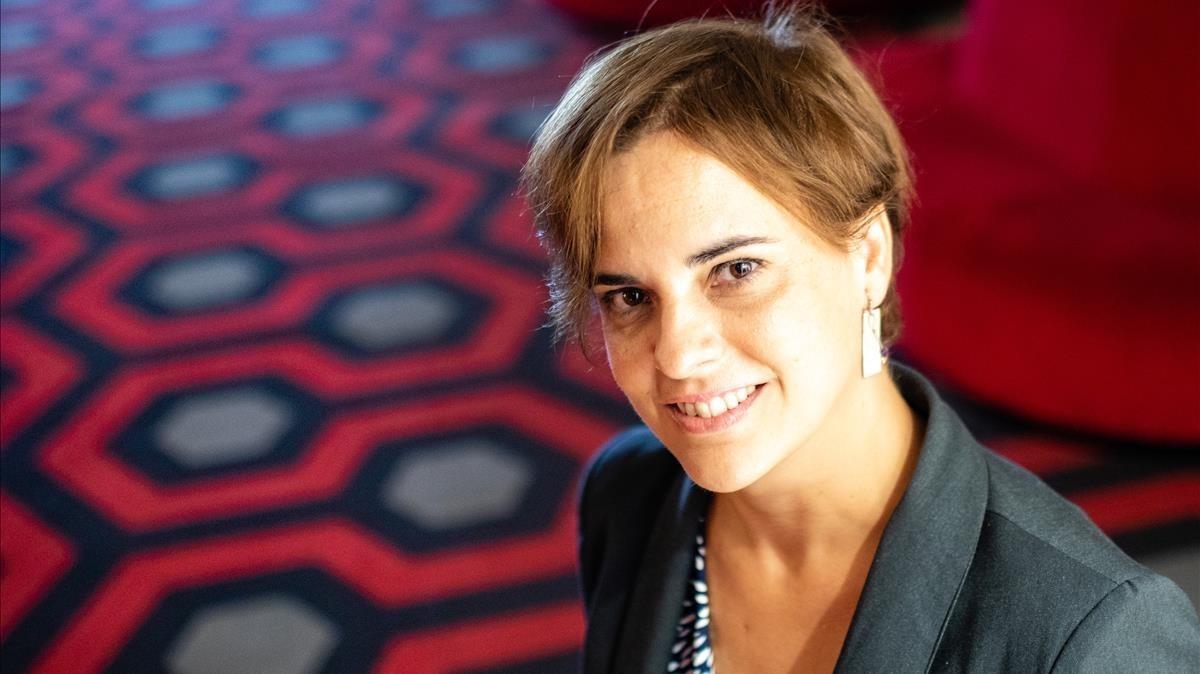 Eva Vila, fotografiada en Barcelona