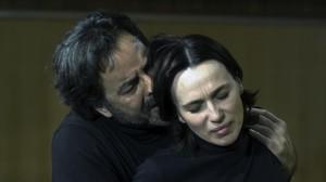 Abel Folk y Ariadna Gil, en 'Jane Eyre: una autobiografia'.