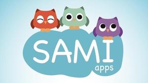 Imagen de la aplicación para bebés de Sami Apps.