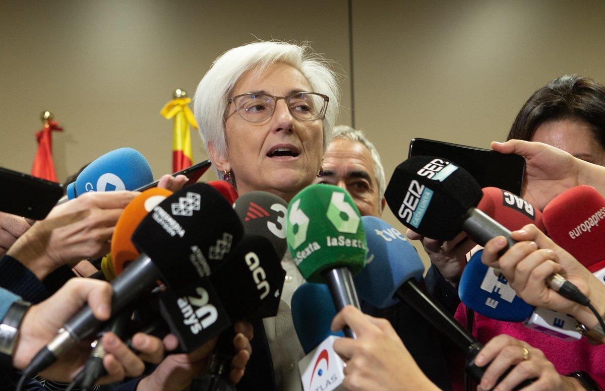 La fiscala general del Estado, María José Segarra