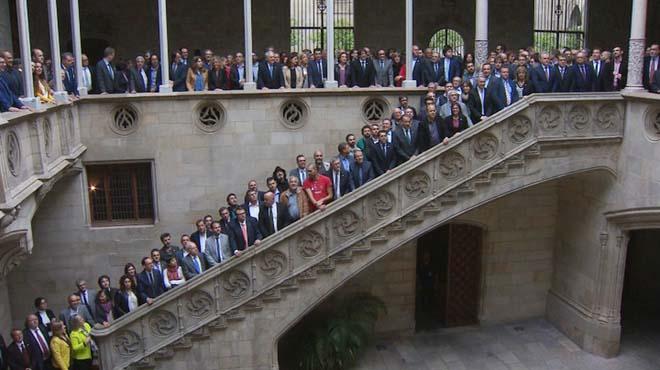 Les institucions catalanes presenten un front comú, per reclamar el traspàs íntegre de Rodalies.