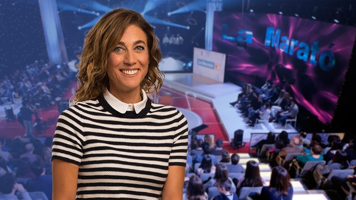 Helena Garcia Melero, presentadora de la próxima edición deLa Marató de TV-3.