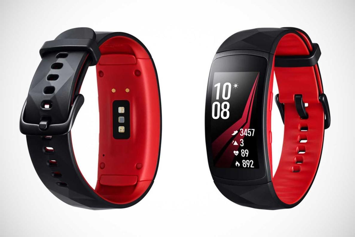 Nueva pulsera inteligente Gear Fit 2 Pro de Samsung