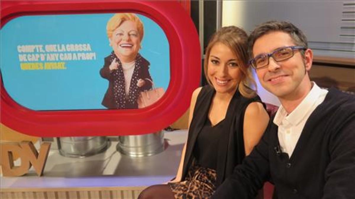 Marta Carreras y Oriol Soler presentaran el sorteo de la Grossa en TV-3.