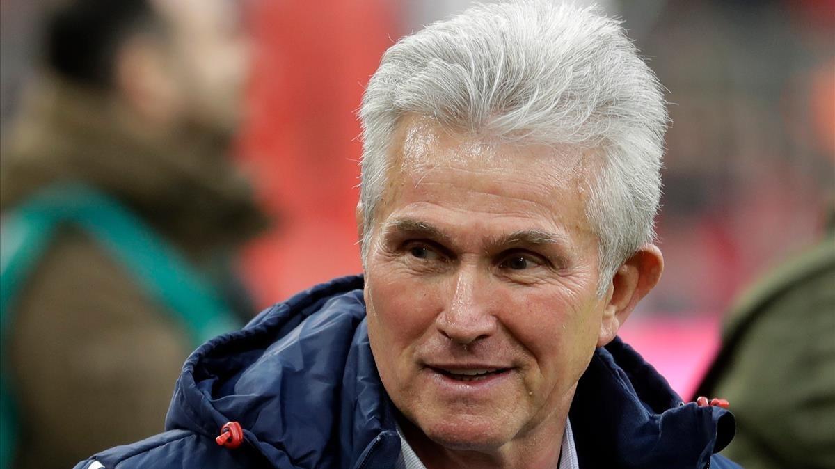 Heynckes, el técnico del Bayern Múnich.