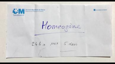 Porta el fill amb 39,2º a urgències a Madrid i la pediatra li recomana homeopatia