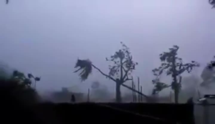 El huracán Matthew azota Haití.