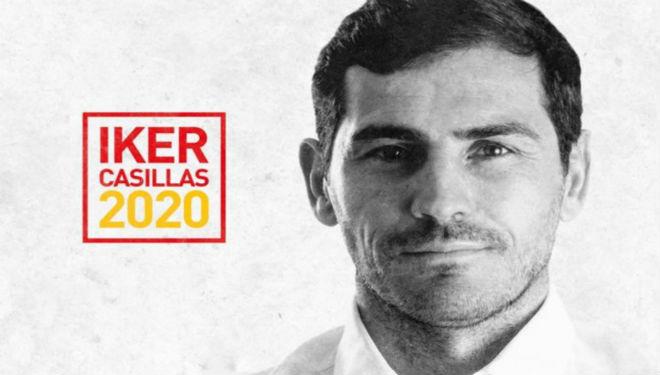 Iker Casillas, ya en campaña.