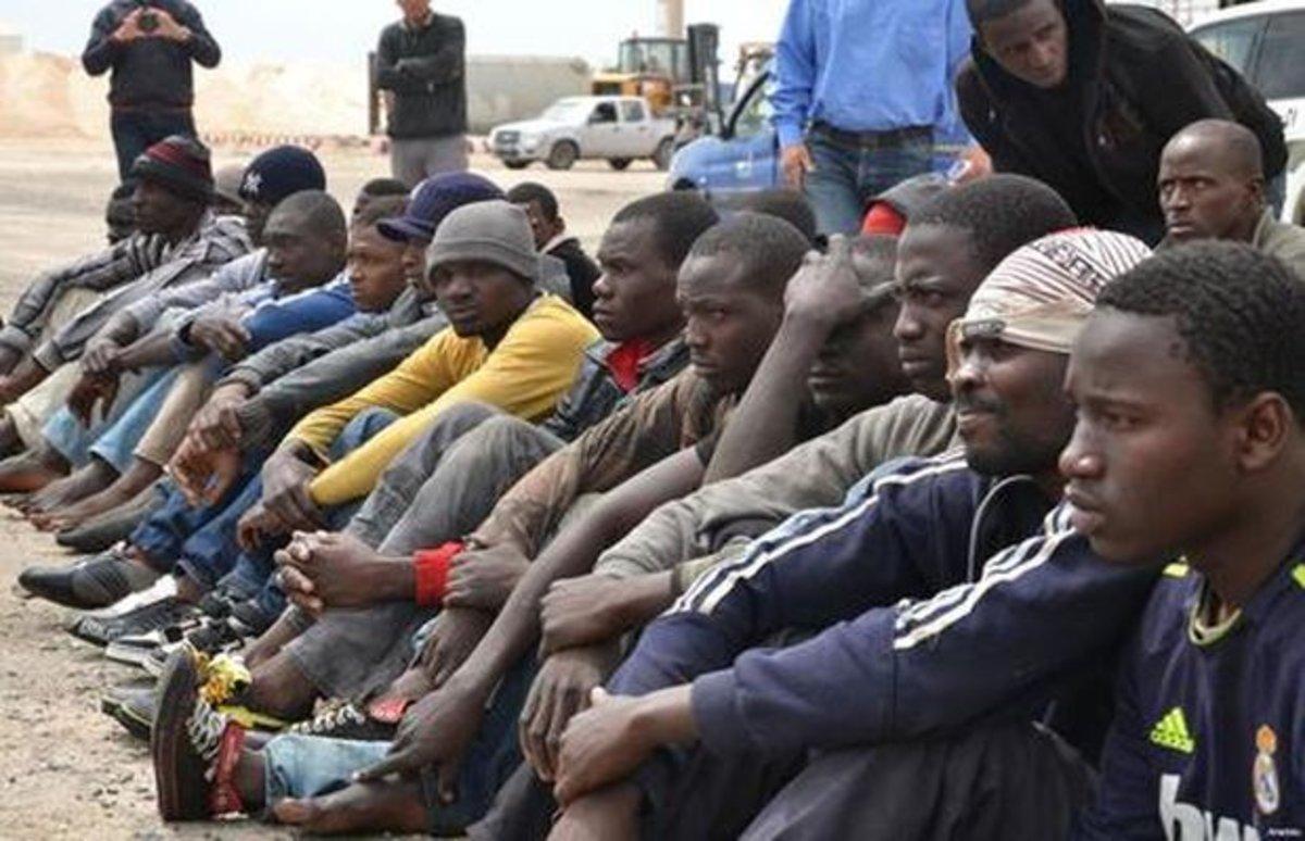Inmigrantes africanos en la frontera de México con los Estados Unidos ANSA