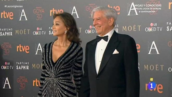 Isabel Preysler y Mario Vargas Llosa (La 1).