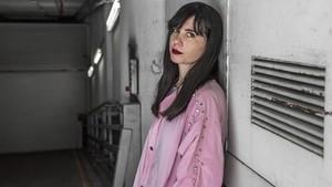 Javiera Mena, fotografiada este martes en Barcelona