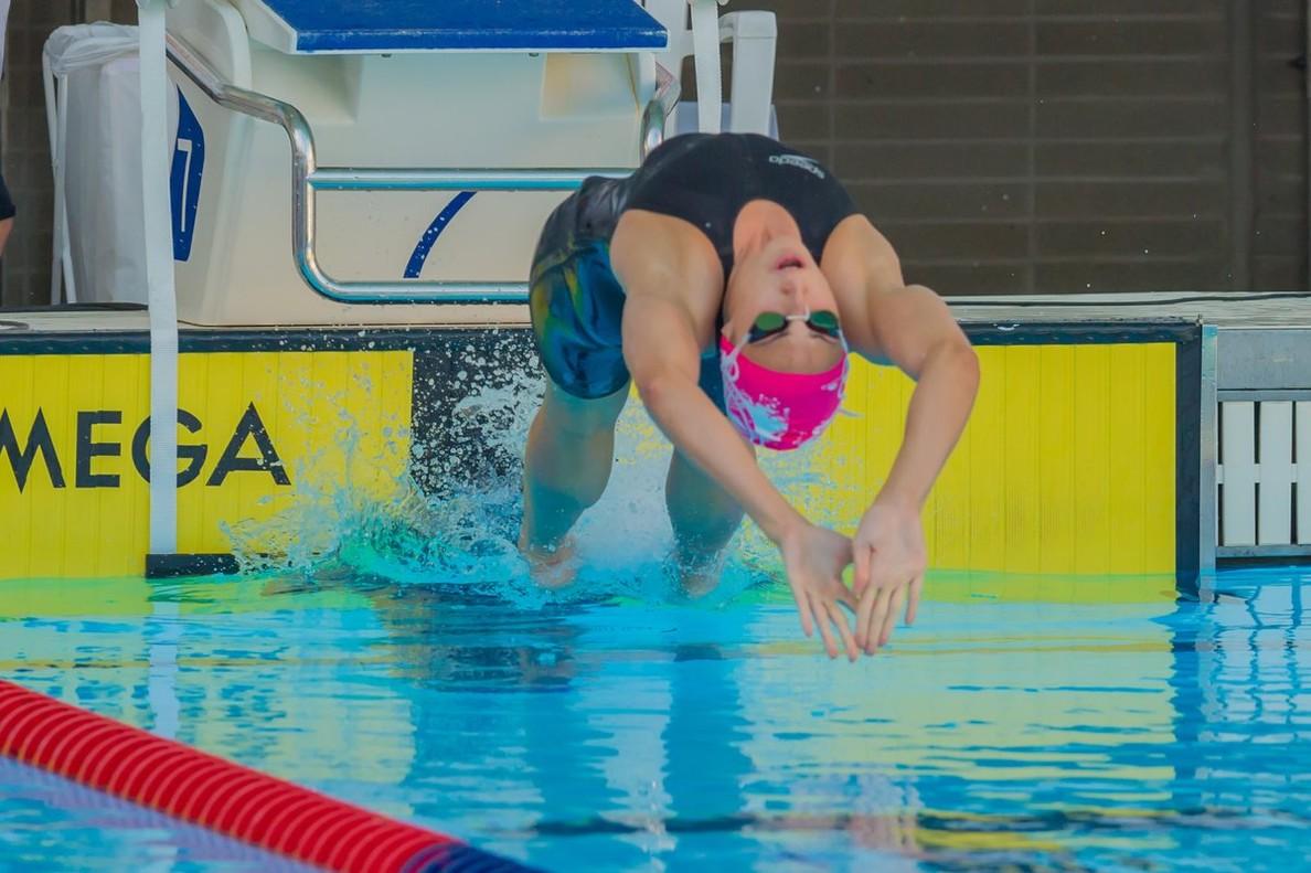 Jessica Vall en el Campeonato Europeo de piscina corta