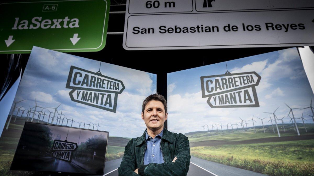 Jesús Cintora, presentador de 'Carretera y manta'.