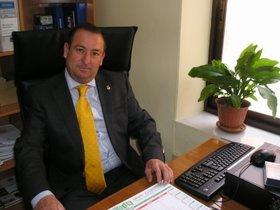 José Luis Valladolid, alcalde de Villares del Saz (Cuenca).