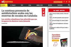Imputado el director de 'El Jueves' por un artículo satírico sobre la policía