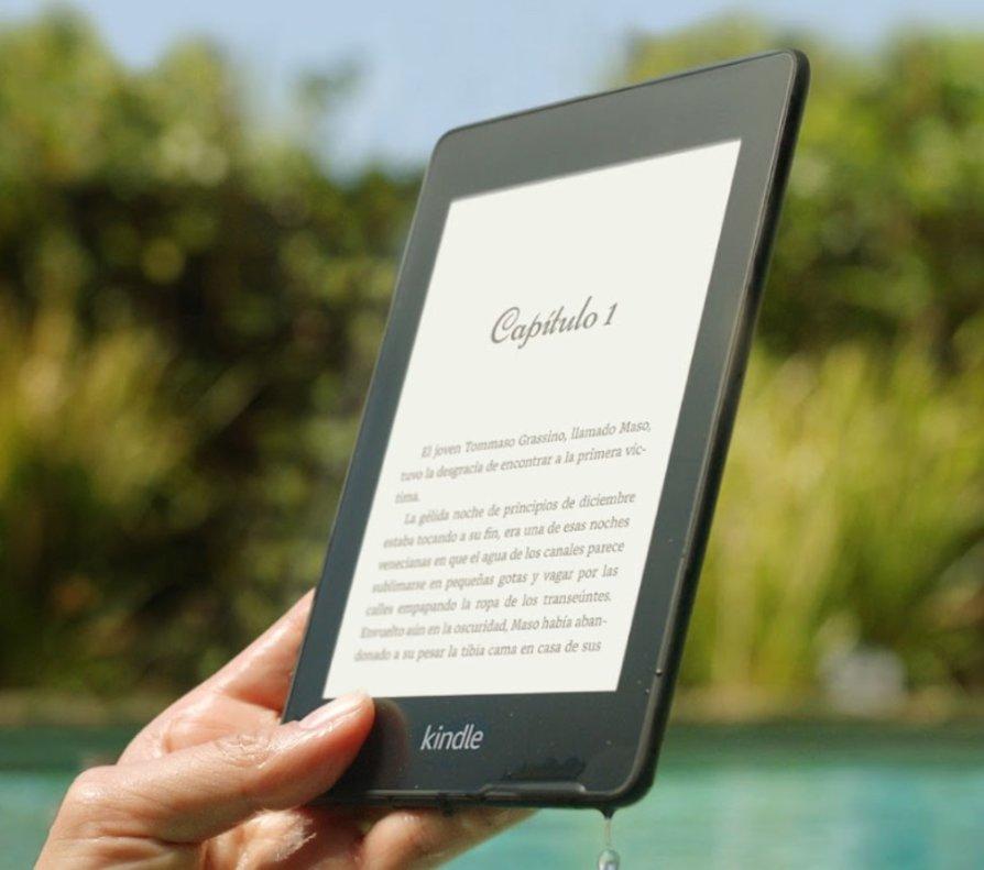 Amazon anuncia un nou Kindle Paperwhite resistent a l'aigua