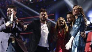 'La voz' termina la primera fase de los directos con la elección de sus ocho semifinalistas