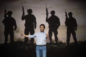 Lei Jun, consejero delegado de Xiaomi, presenta la estrategia futura de la compañía en Pekín.