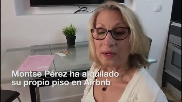 Montse Pérez va llogar el seu pis per 950 euros al mes, mentre el seu inquilí obtenia8.000euros al mes rellogant-lo.