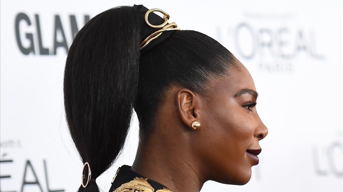 Serena Williams, el pasado lunes en Nueva York.