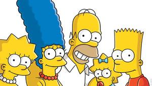 Los Simpson se toman un selfie.