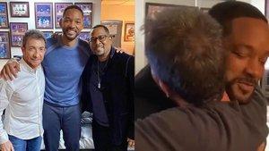 """El cariñoso reencuentro de Will Smith y Pablo Motos antes de entrar a plató: """"¡Pablo, hermano!"""""""