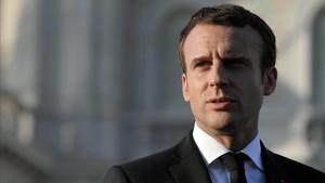 Macron, el pasado 12 de julio.