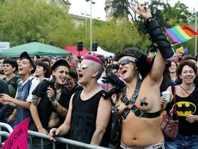 Manifestación de un colectivo LGTBI.