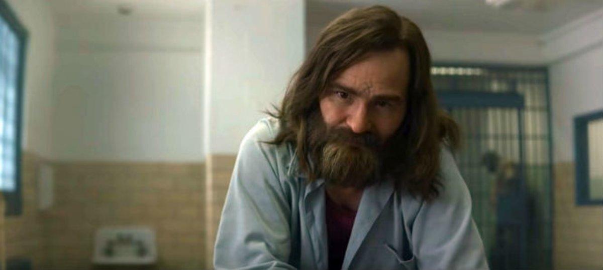 Damon Herriman, en el papel de Charles Manson en la segunda temporada de 'Mindhunter'
