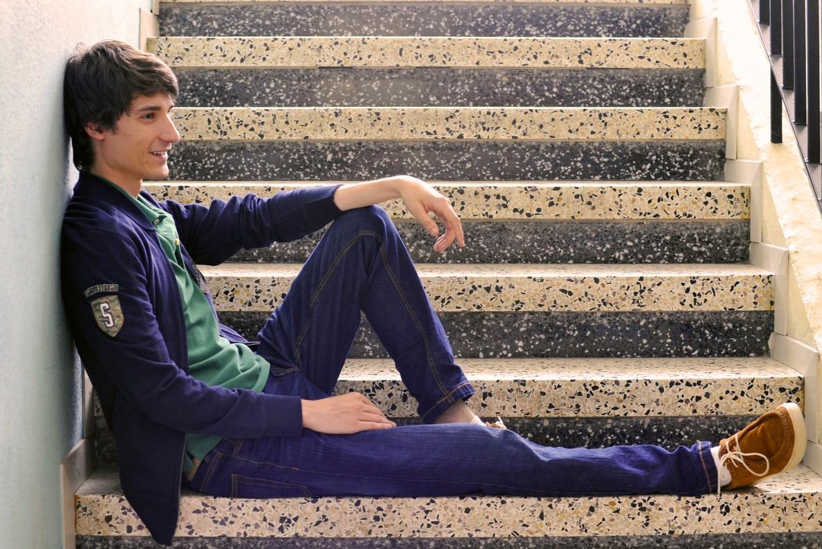 Marcos Franz, que interpreta a Gerard en la serie Merlí.