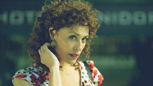 María Almudéver, en 'Benidorm'.