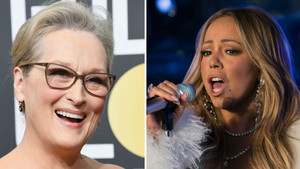 Meryl Streep y Mariah Carey