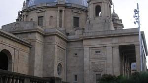 Monumento a los Caídos, en Pamplona.
