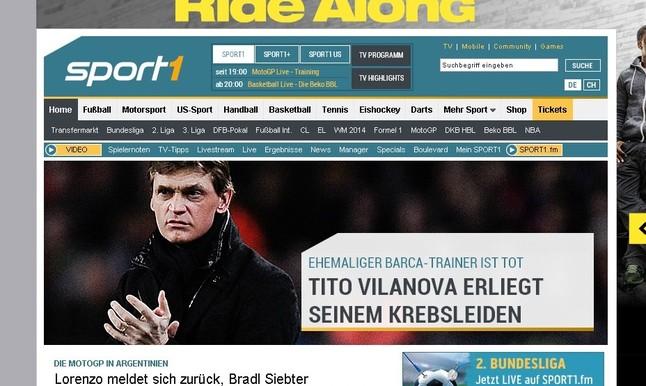 Sport1 de Alemania.