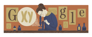 Nettie Stevens, la investigadora a la que hoy Google rinde homenaje.